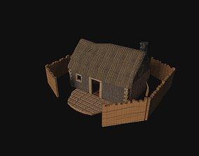 3D model house barry