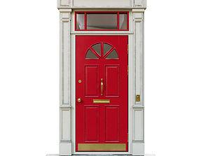 3D model Entrance classic door 06