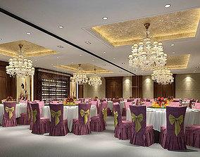 3D Business Restaurant - Coffee - Banquet 132