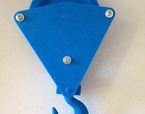 Single Sheave Pulley 3D printable model