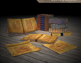 3D asset Magic Books