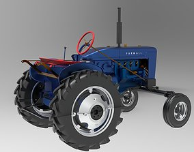 Tractor Case Farmall A Series 3D truck