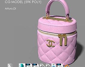 Chanel Vanity Case Bag 59k poly 3D model