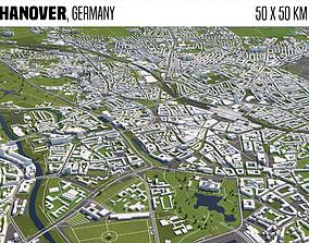 Hanover Germany 3D model merkel