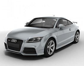 3D Audi TT RS Coupe 2010