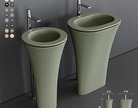 Ceramica Cielo Amedeo Freestanding Washbasin 3D model