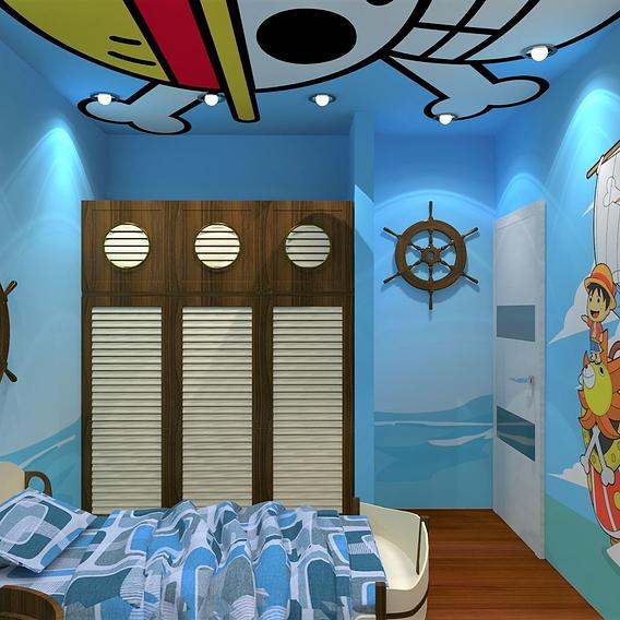 One Piece Kid Bedroom