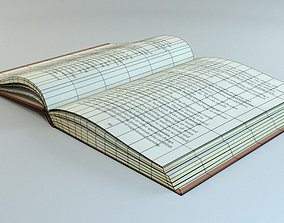3D asset Hardcover book