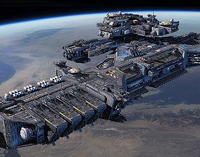 Spacecraft Carrier 3D