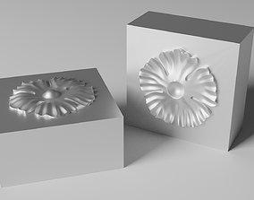 3D print model Mold for wrought iron flower