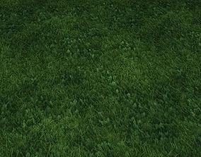 3D model ground grass tile 35