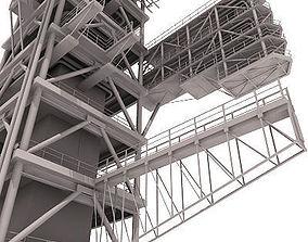 energy Industrial Tower 3D