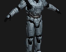 Reach Spartan Base Armor Set Wearable 3D printable model