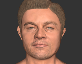 realtime Leonardo Dicaprio actor movie 3D print