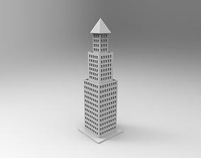 3D printable model sityscape skyscraper