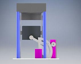 Baling Press 3D model