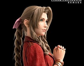 Aerith bracelets from Final Fantasy 3D printable model