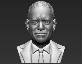 Tom Hanks bust 3D printing ready stl obj formats