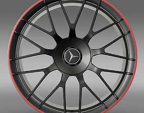 3D Mercedes AMG C 63 S Edition rim