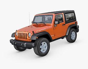 Jeep Wrangler Rubicon 2007 3D