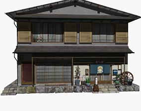 HakoneHouse 3D asset