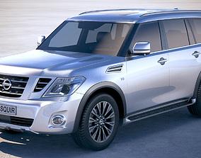 3D model Nissan Patrol Y62 2019