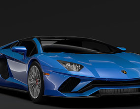 Lamborghini Aventador S Roadster 2018 3D