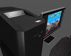 3D model PC Prop for Unity