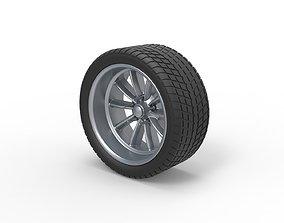 3D printable model Diecast Sport wheel 10