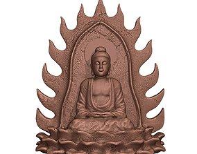 3D printable model sculptures Sakyamuni