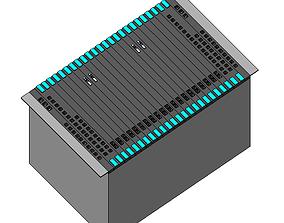DSLAM ERICSSON BFD 538 3D model