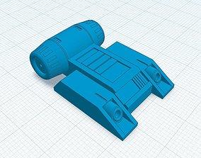 Jumptrooper jetpack for 1-12 figures resin printable