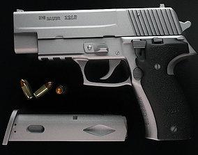 3D Hand gun Sig-sauer p226