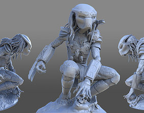 figurines sci-fi Predator 3D model