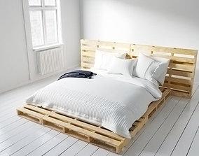 3D model bed 07 am164