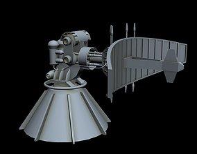 Sci-fi Radar 1 3D model