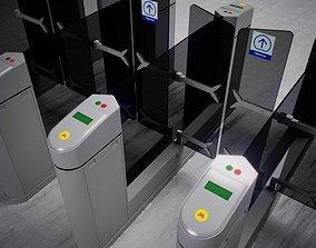 3D model Metro Turnstile