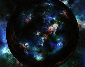 Nebula Space Environment HDRI Map 012 3D model