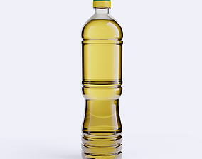 Oil Bottle 3D asset
