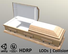Caket oak wood - Unity - HDRP - UE4 3D model