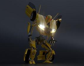 Transformer 3D animated