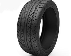 3D Tire Yokohama S-Drive