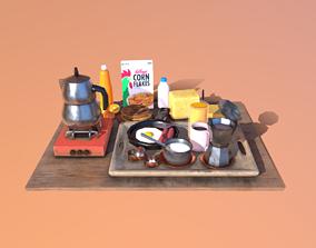 Breakfast Pack 3D asset