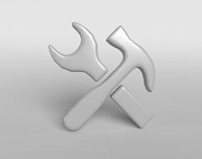 3D model Maintain Symbol v1 001
