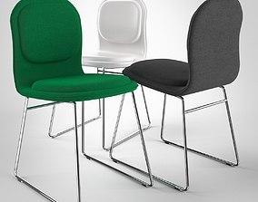 Hi Pad Chair by Jasper Morrison 3D