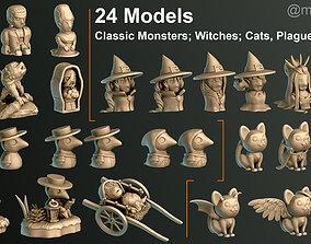 Halloween Pack 1 3D print model