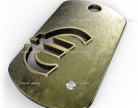 Euro Symbol 3D printable model