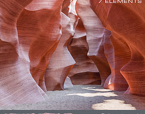 3D asset Canyon Antelope 7 Elements