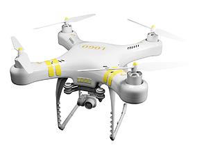 3d 3D model Drone