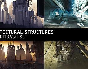3D model other Architectural Structures Kitbash Set